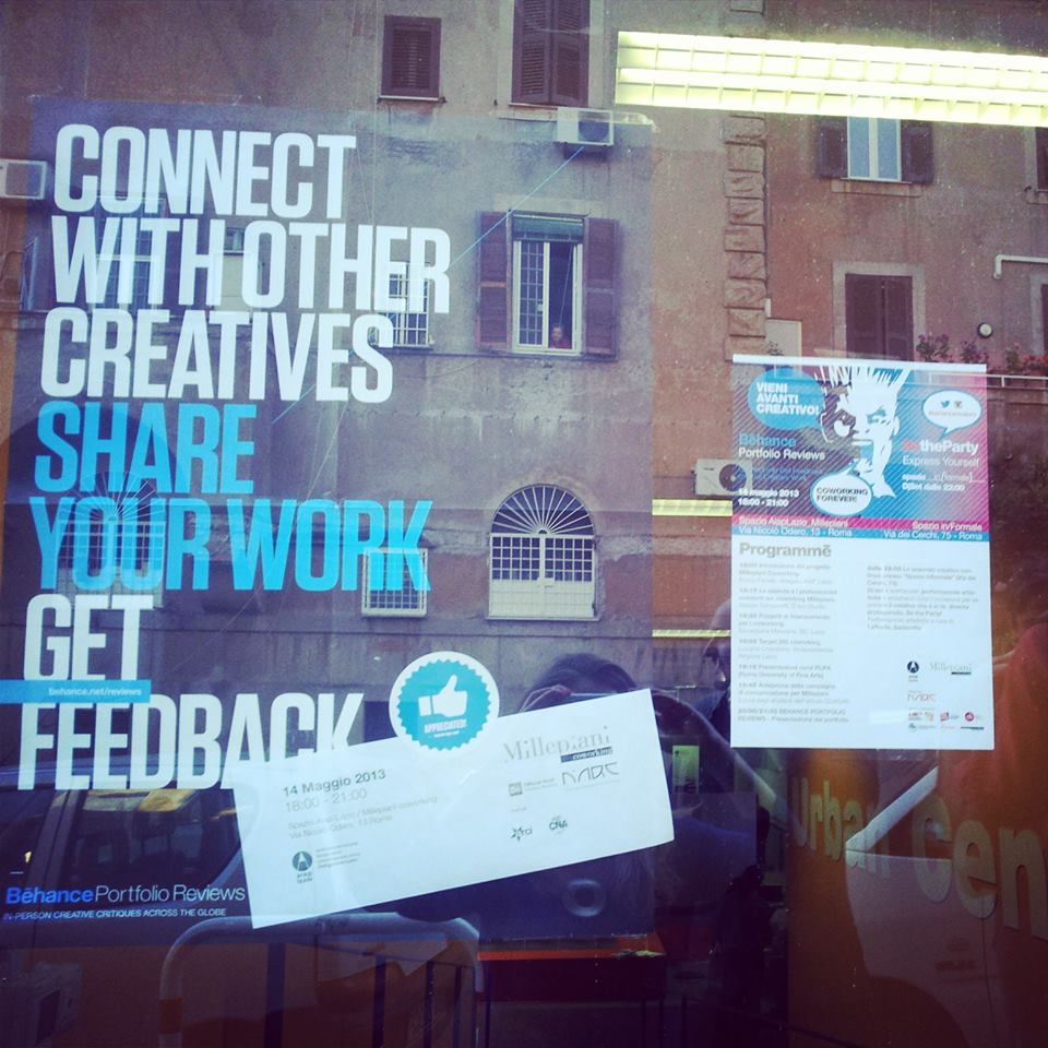 Behance Portfolio Reviews Rome 2013