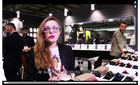 MIDO 2017   stand CAMBIAMI – Bijouets  interview by frequenceoptic