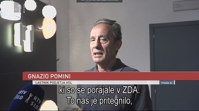 Cambiami highlights for Slovenian TV