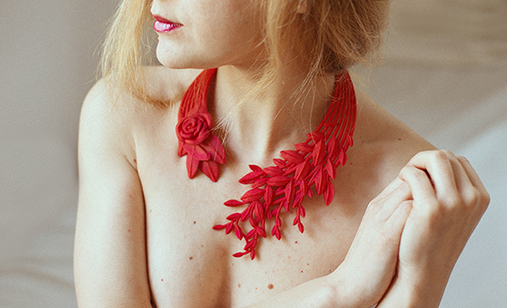 3d printed jewelry collection SONATA BAROCCA